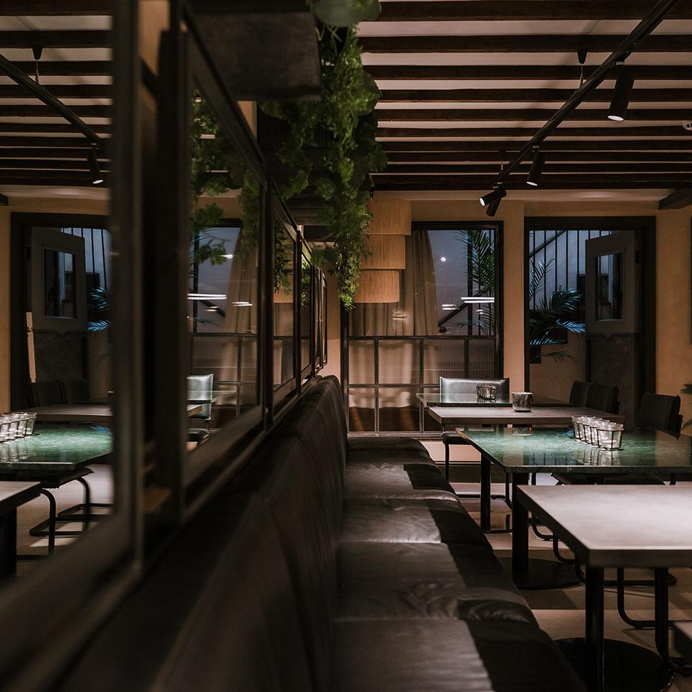 khai-khai-banquette-planting-stairwell-interior-design-candles